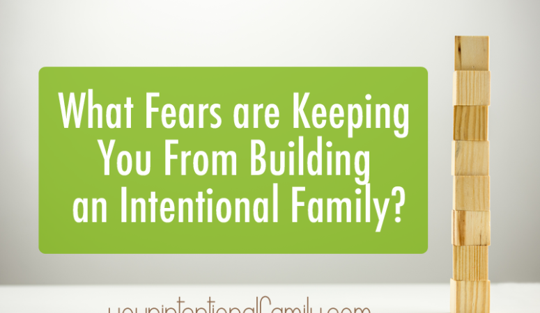 What fears are keeping you from building an intentional family? Can you relate to any of these mentioned?