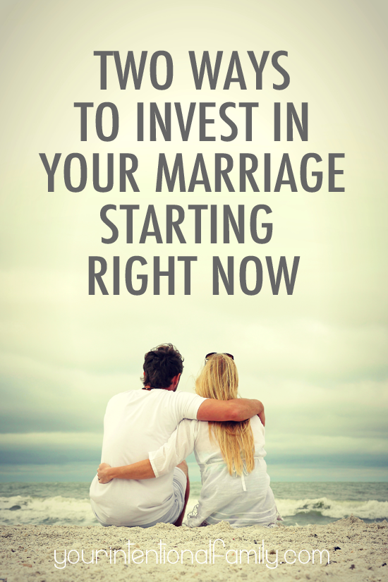 Two Ways to Invest in Your Marriage Starting Right Now! You don't want to miss these completely FREE resources!