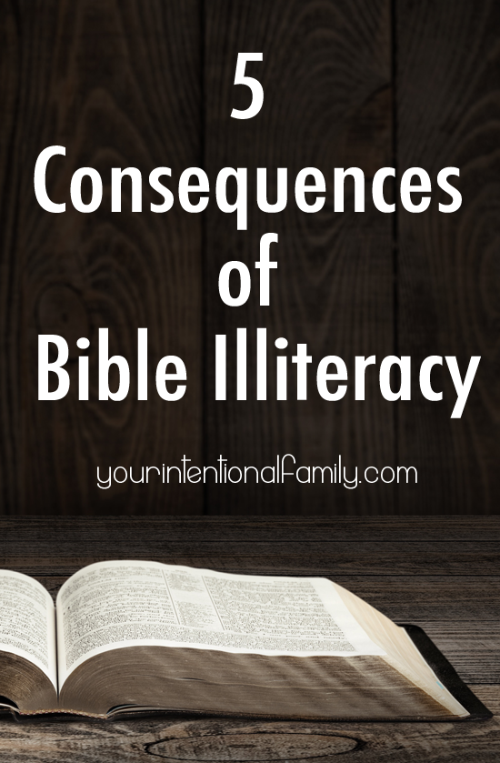 5 Consequences of Bible Illiteracy