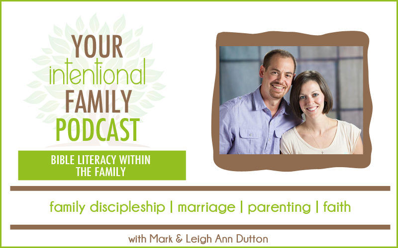 BIBLE LITERACY WITHIN THE FAMILY