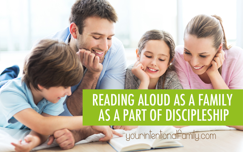 Reading Aloud as a Family as a Part of Discipleship