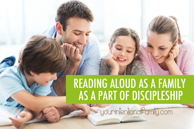 Reading Aloud as a Family as a Part of Discipleship